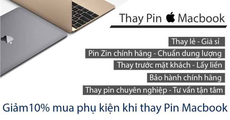 thay pin macbook