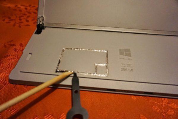 Thay SSD Surface chính hãng