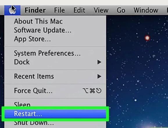Restart nếu Macbook quá chậm