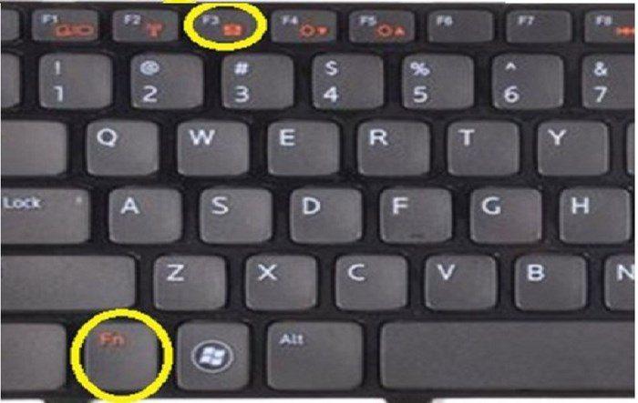 Bật tắt chuột cảm ứng bằng phím chức năng